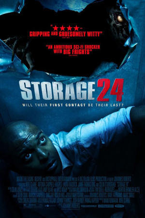 """Poster art for """"Storage 24."""""""