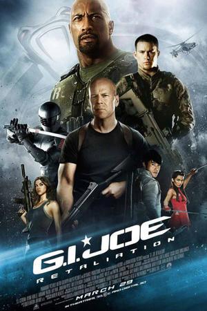 """Poster art for """"G.I. Joe: Retaliation 3D."""""""