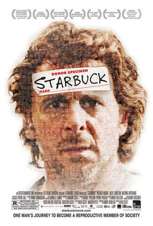 "Poster art for ""Starbuck."""