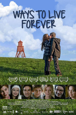 """Poster art for """"Ways to Live Forever."""""""
