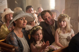 """Minnie Driver and Jason Flemyng in """"I Give It a Year."""""""