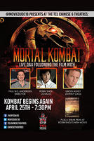 Moviedude18: Mortal Kombat I w/ Q&A showtimes and tickets