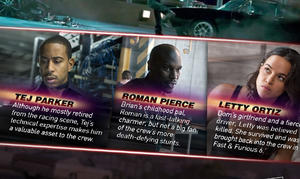 Infographic: 'Furious 7' Character Guide