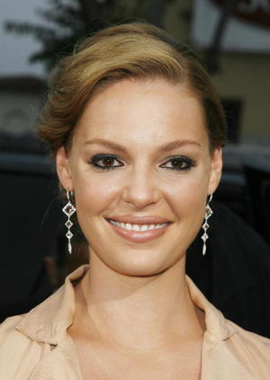 """""""Knocked Up"""" star Katherine Heigl at the L.A. premiere."""