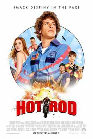"""Hot Rod"" poster art."
