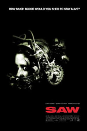 """Poster art for """"Saw."""""""