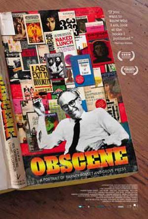 """Poster art for """"Obscene."""""""