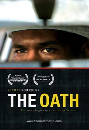 "Poster art for ""The Oath."""