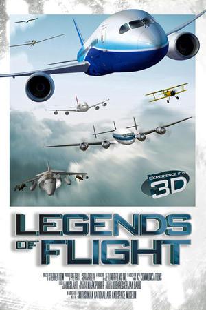 "Poster art for ""Legends of Flight 3D"""