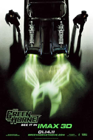 "Poster art for ""The Green Hornet: An IMAX 3D Experience"""