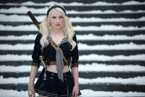 "Emily Browning as Babydoll in ""Sucker Punch."""