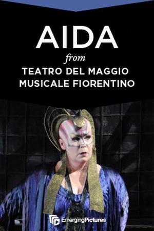 "Poster art for ""Aida."""