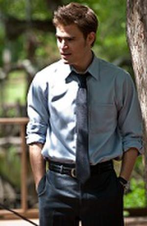 "Paul Wesley in ""The Baytown Outlaws."""