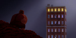 "Wreck-It Ralph voiced by John C. Reilly in ""Wreck-It Ralph."""