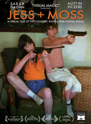"Poster art for ""Jess + Moss."""
