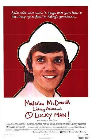 """Poster art for """"O Lucky Man!"""""""