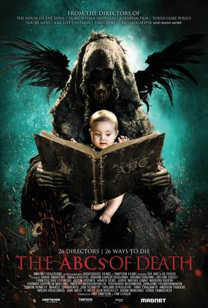 """Poster art for """"The ABCs of Death."""""""