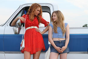 "Blake Lively and Chloe Moretz in ""Hick."""