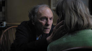 """Jean Louis Trintignant as Georges and Emmanuelle Riva as Anne in """"Amour."""""""