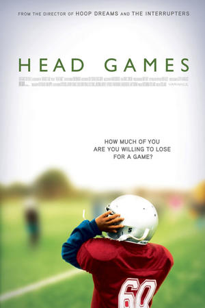 "Poster art for ""Head Games."""