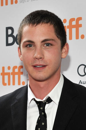 """Logan Lerman at the premiere of """"The Perks of Being a Wallflower"""" during the 2012 Toronto International Film Festival in Canada."""