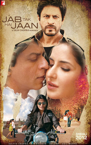 "Poster art for ""Jab Tak Hai Jaan."""