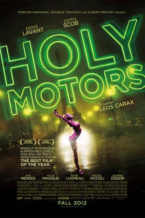 "Poster art for ""Holy Motors."""