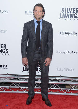 """Bradley Cooper at the New York premiere of """"Silver Linings Playbook."""""""