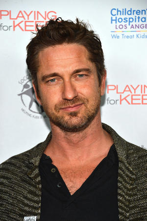 """Gerard Butler at the California premiere of """"Playing for Keeps."""""""
