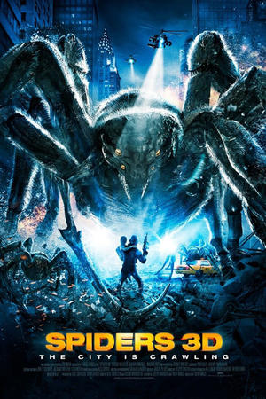 """Poster art for """"Spiders 3D."""""""