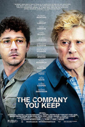 """Poster art for """"The Company You Keep."""""""