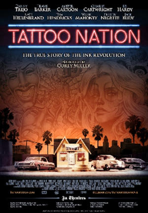 """Poster art for """"Tattoo Nation."""""""