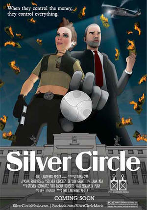 """Poster art for """"Silver Circle."""""""