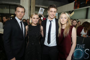 """Stars of """"The Host"""" at the premiere."""