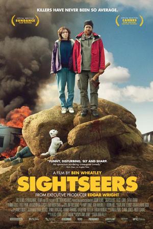 "Poster art for ""Sightseers."""