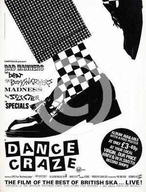 "Poster art for ""Dance Craze."""