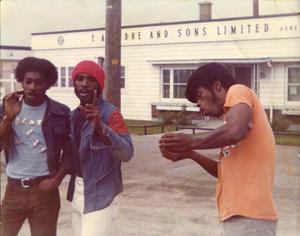"David Hackney, Bobby Hackney Sr and Dannis Hackney in ""A Band Called Death."""