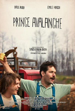 """Poster art for """"Prince Avalanche."""""""
