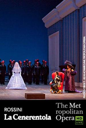"Poster art for ""The Metropolitan Opera: La Cenerentola."""