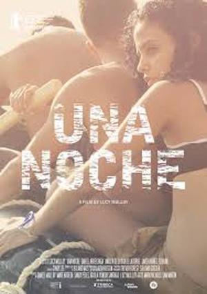 """Poster art for """"Una Noche."""""""