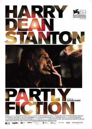 "Poster art for ""Harry Dean Stanton: Partly Fiction."""
