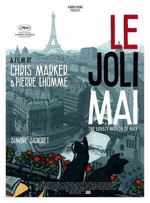 "Poster art for ""Le Joli Mai."""