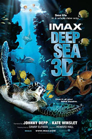 "Poster art for ""Deep Sea 3D."""