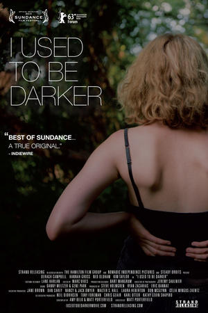 "Poster art for ""I Used to Be Darker."""
