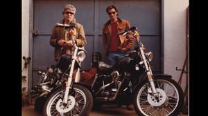 "Johnny Dark and Sam Shepard in ""Shepard & Dark."""
