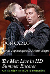 The Met Summer Encore: Don Carlo showtimes and tickets