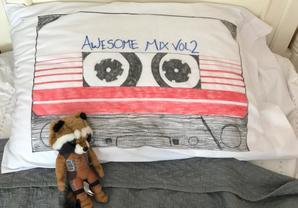 So Awesome: Make This DIY 'Guardians' Mixtape Pillow