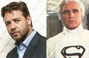 Russell Crowe to Play Superman's Father, Jor-El