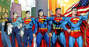The Many Suits of Superman