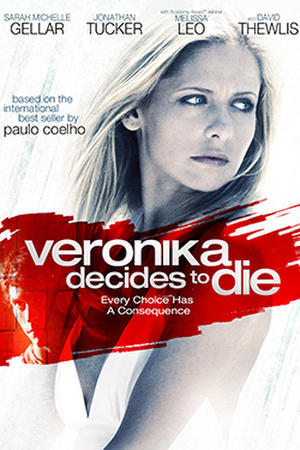 """Poster art for """"Veronika Decides to Die."""""""